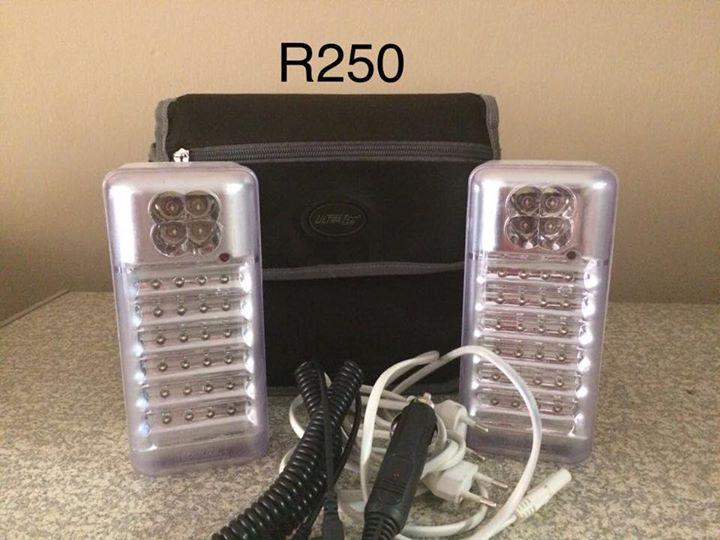 Spotlights met charger