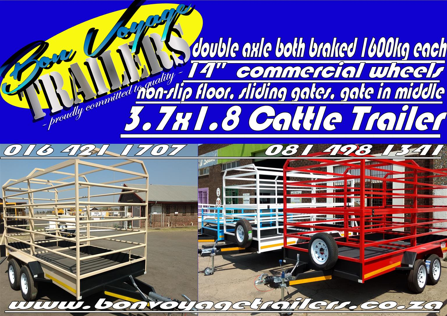 THE HIGHEST QUALITY MANUFACTURED TRAILERS