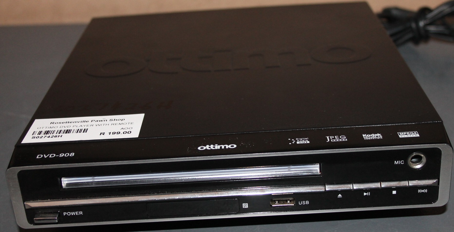 Ottimo dvd player S027426h #Rosettenvillepawnshop