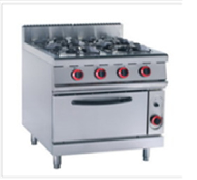 4 Burner gas Stove and Gas Oven