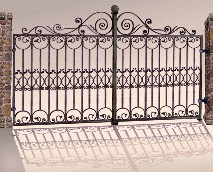 Worth iron designing gates