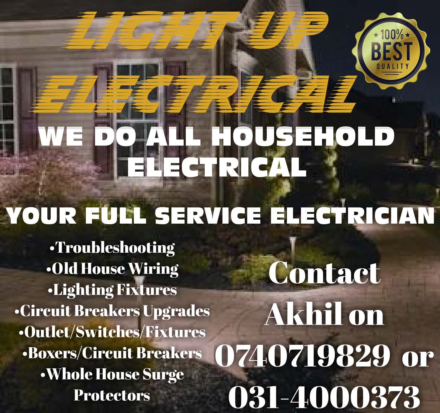 LIGHT UP ELECTRICAL