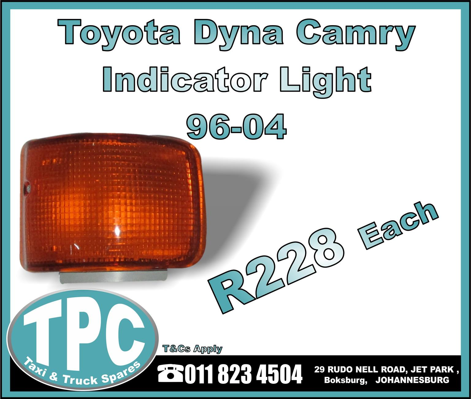 Toyota Dyna Camry Indicator Light - 96-04 - New Replacement Truck Body Parts- TPC.