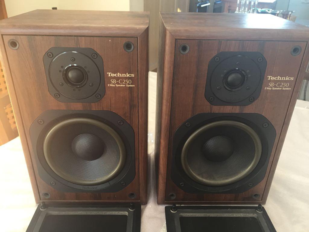 Technics SB-C250 2-Way Monitor Loudspeaker System | Junk Mail