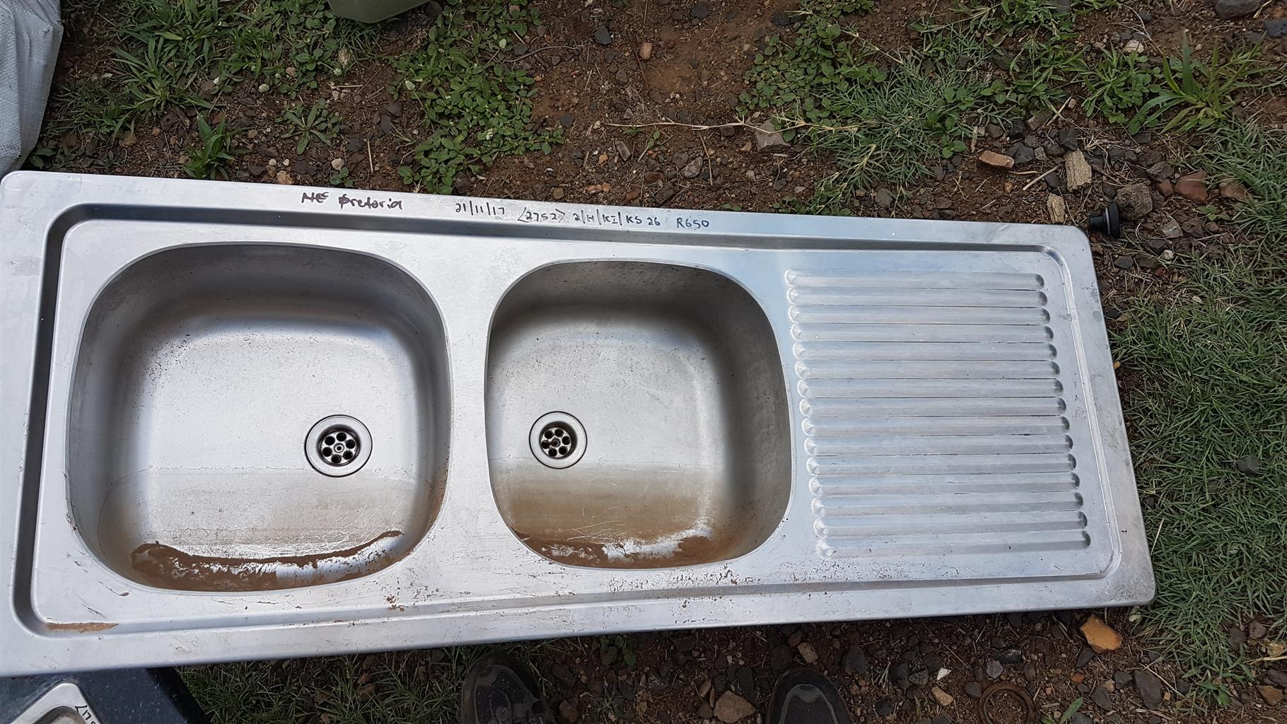 Kitchen Sink For Sale Double Stainless Steel Junk Mail