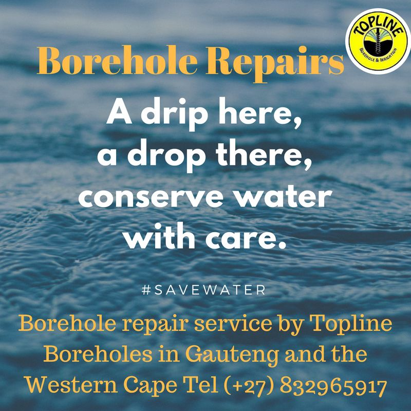 Borehole repair service by Topline Boreholes in Gauteng and the Western Cape Tel (+27) 832965917