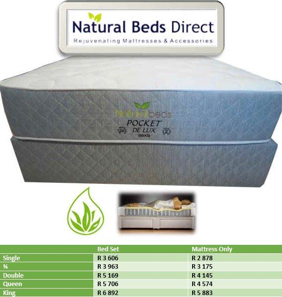 MATTRESSES = POCKET DE LUX TURNABLE DOUBLE BED & BED SETS