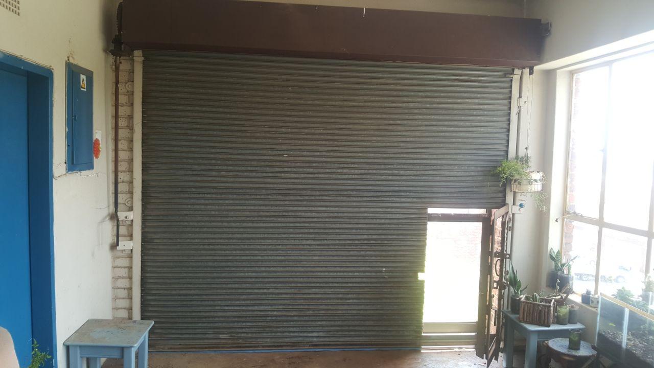 2 x roller shutter doors