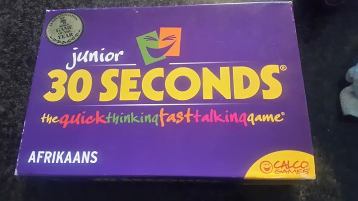 30 Seconds ( Afrikaans edition )