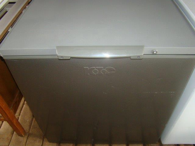 KIC 210L Chest Freezer Silver