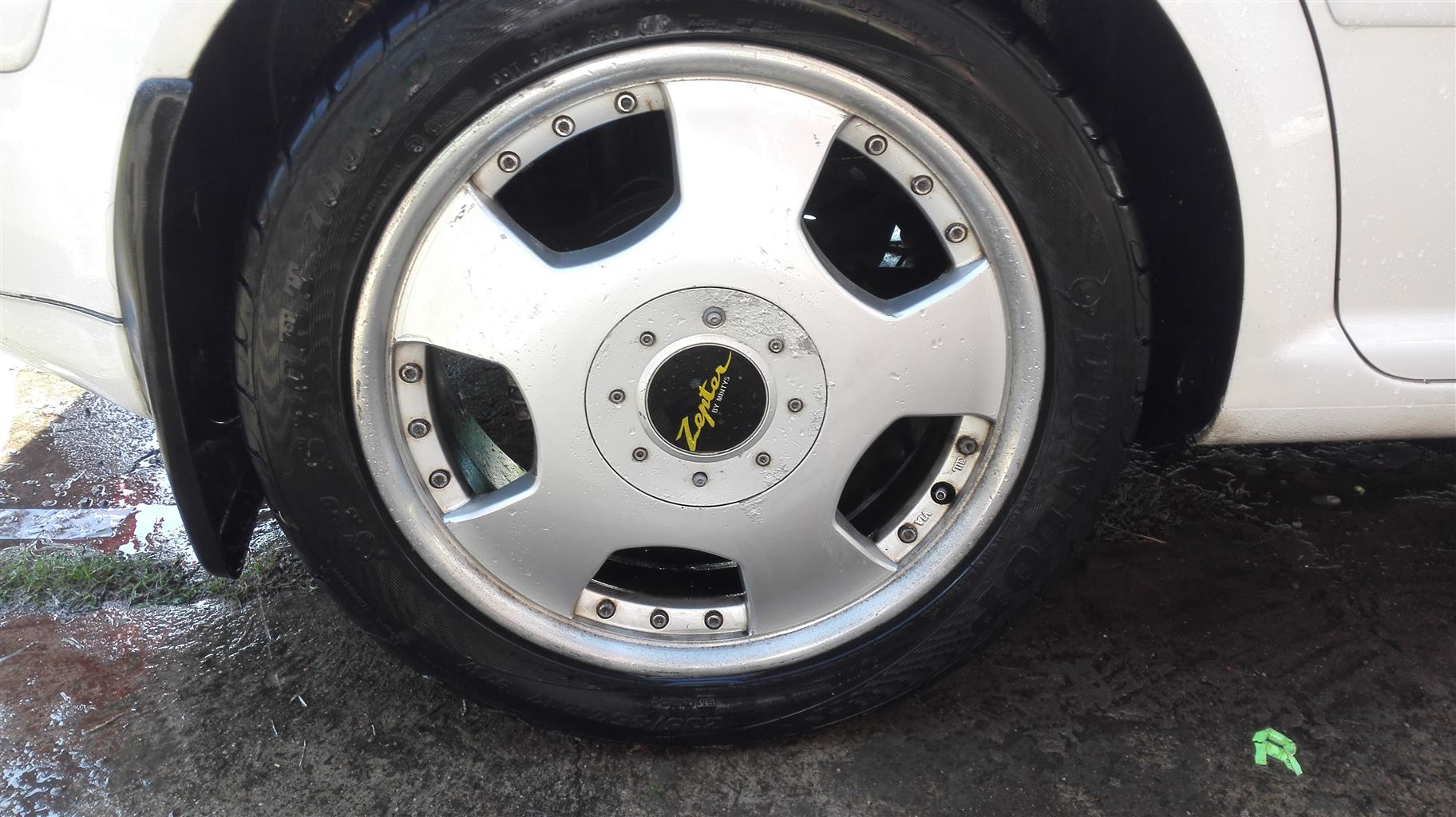 5/112 rims and tyre