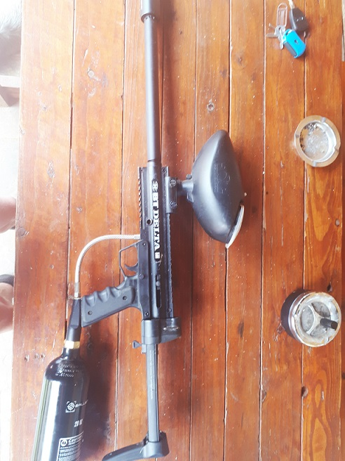 Paintball gun BT DELTA With APEX barrel
