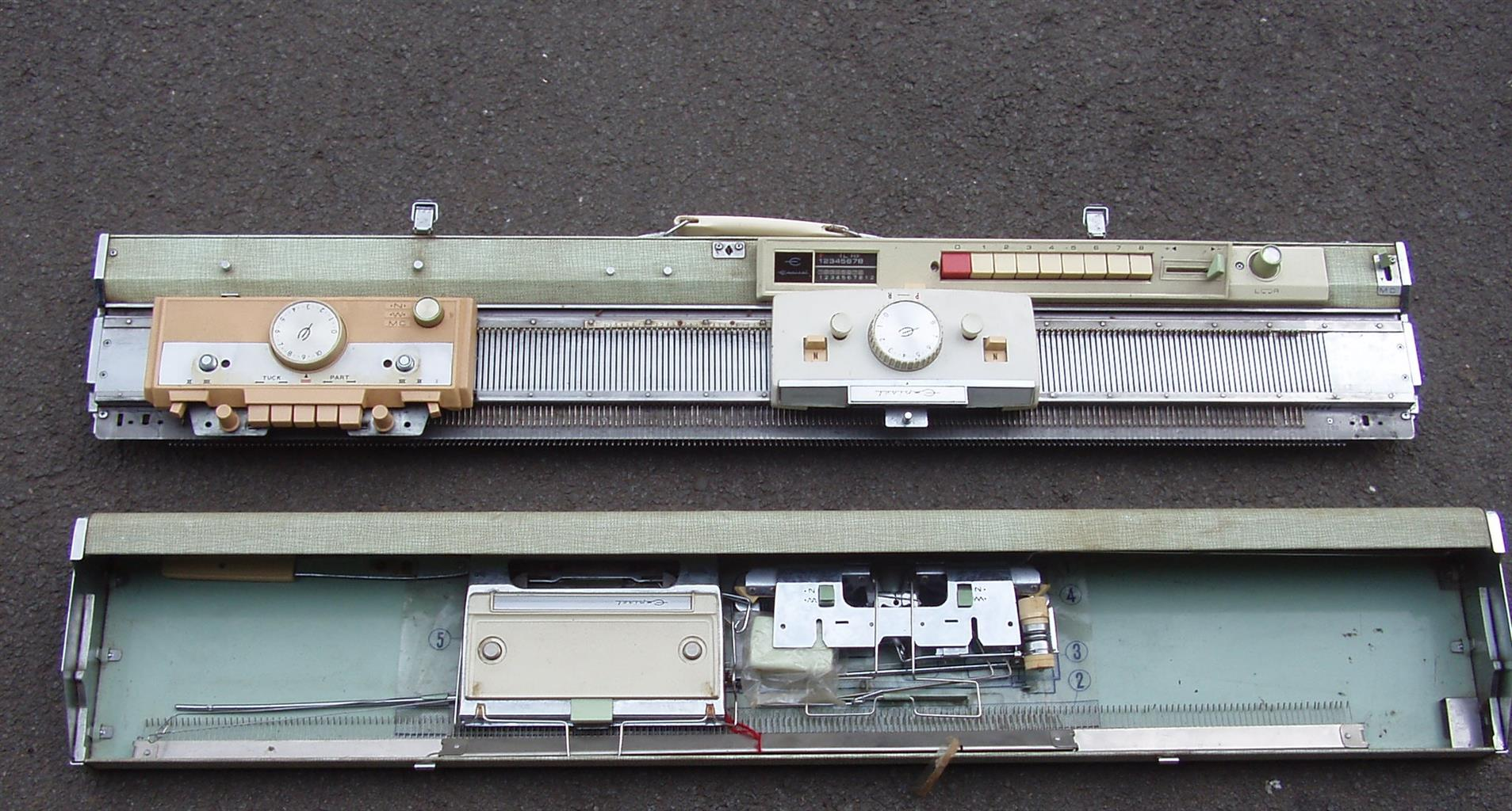 Empisal Knitting Machine - Complete with all accessories