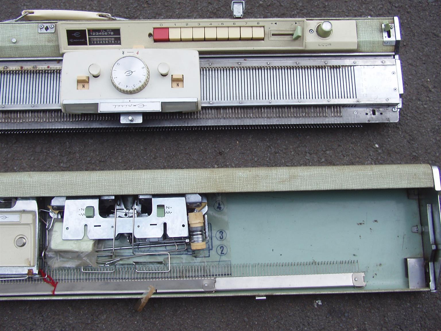 Empisal Knitting Machine - Complete with all accessories   Junk Mail