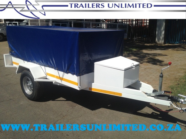 TRAILERS UNLIMITED UTILITY TRAILERS 2400 X 1400 X 900.