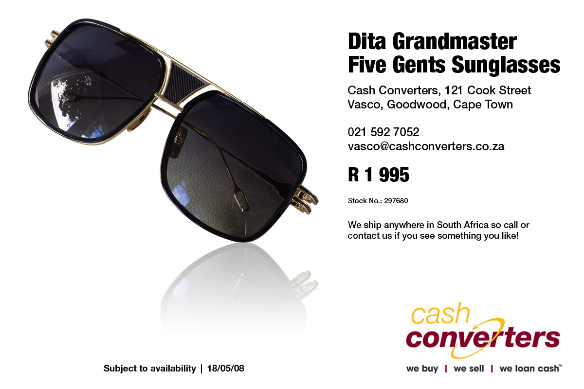bbc4c1255e Dita Grandmaster Five Gents Sunglasses