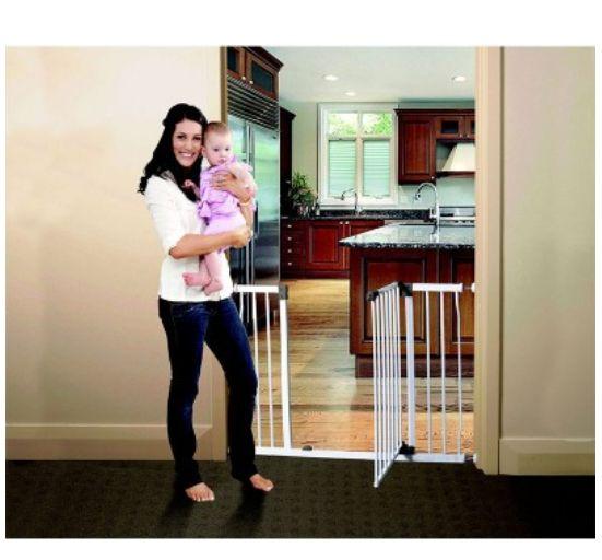 Pet Liberty Doorway Gate – White (75cm to 84cm) [Steel]