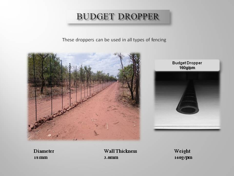 POLYFENCE HDPE FENCING POLES - DROPPERS