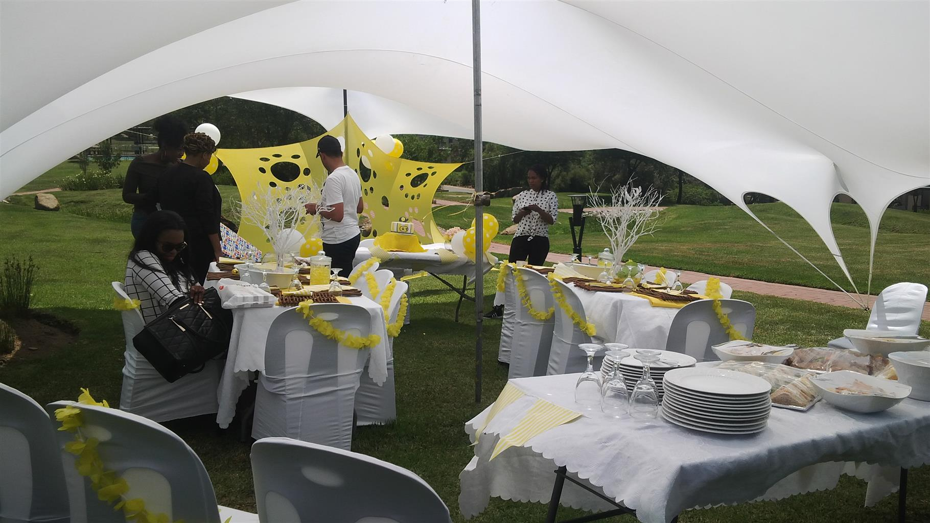 Bk Party Hire Baby Shower Birthdays Parties Stretch Tent