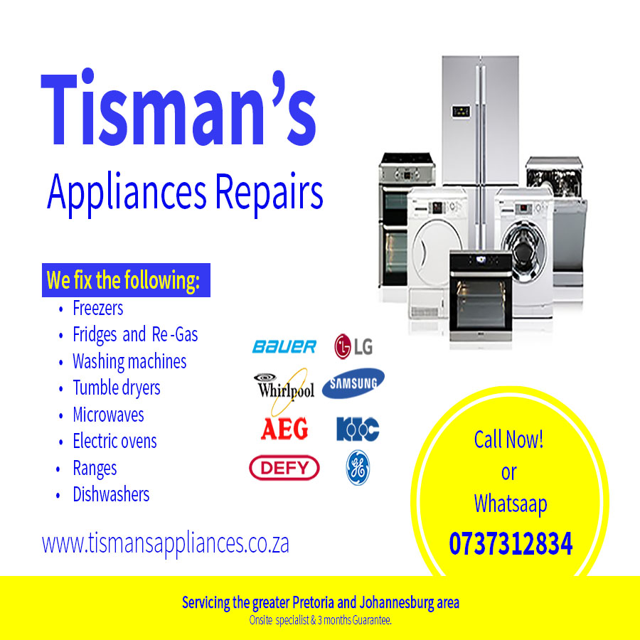 DOMESTIC APPLIANCE REPAIRS@ YOUR HOME