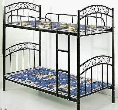 Double metal bunk