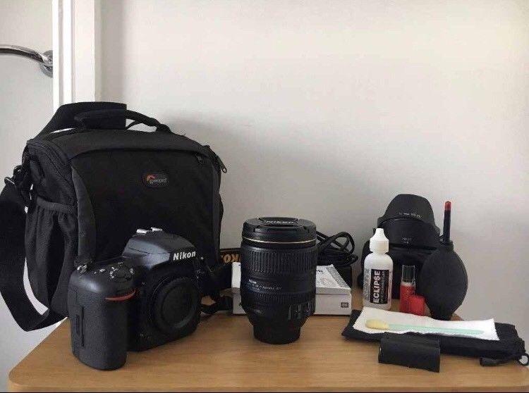 Nikon D750 DSLR Camera AF-S 24-120mm f/4G ED VR Zoom + Bundled accessories