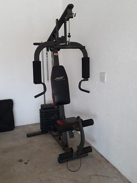 Trojan home gym