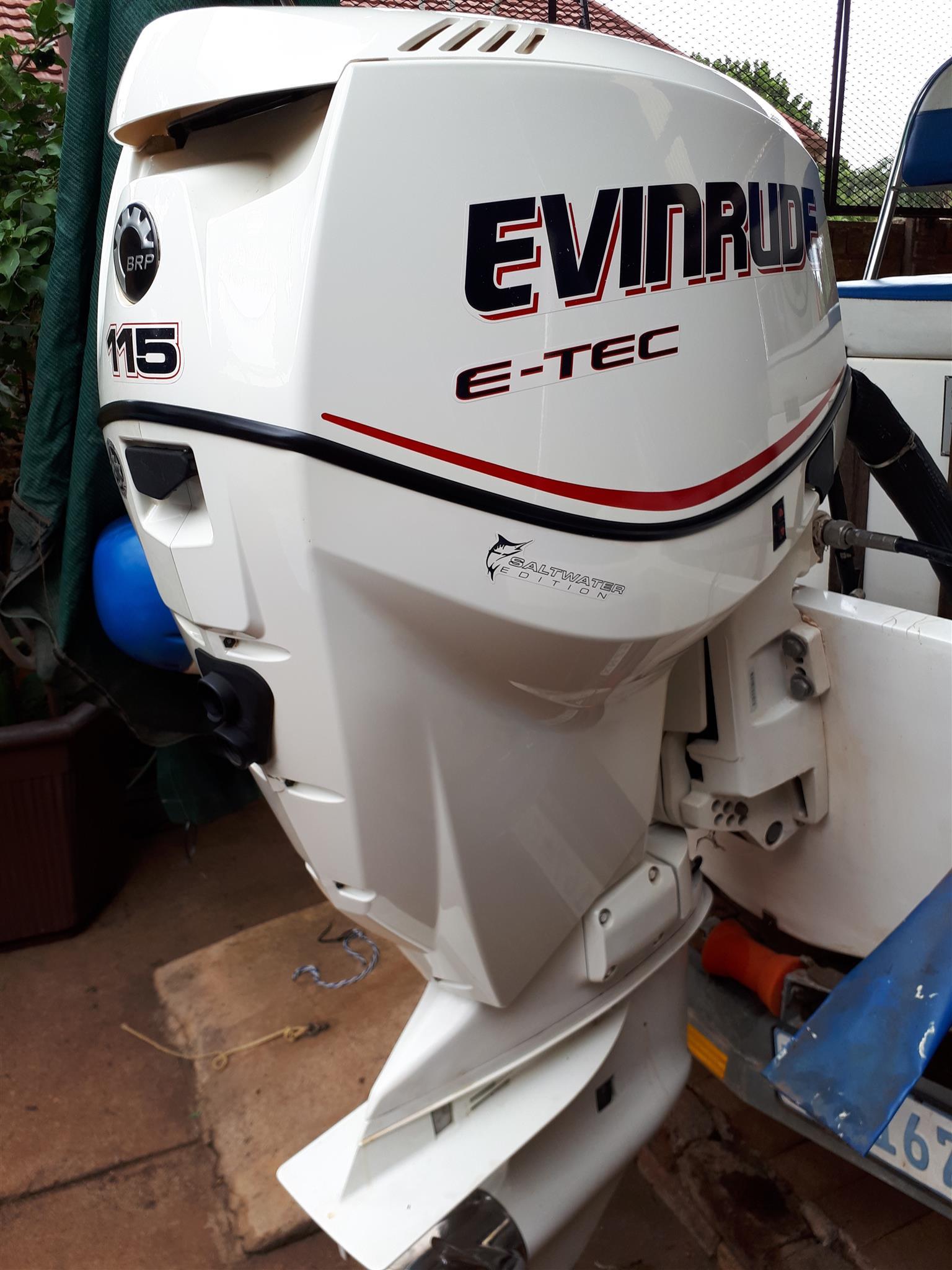 Evinrude 115 Hp E Tec Outboard Motor Junk Mail
