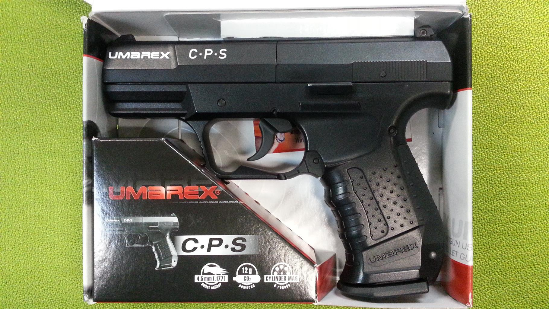 Umarex C.P.S semi auto air pistol