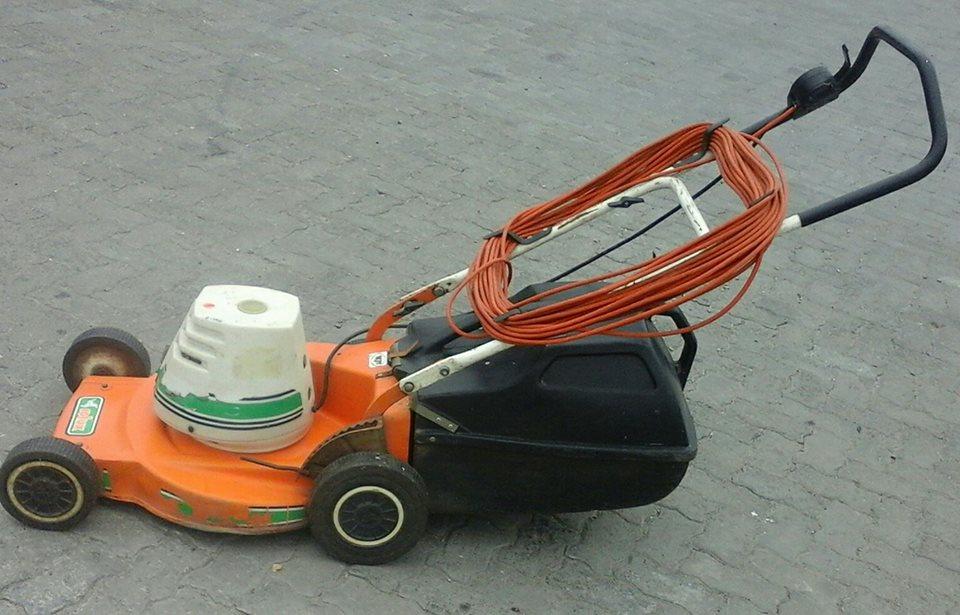Rolux laser 230V lawnmower