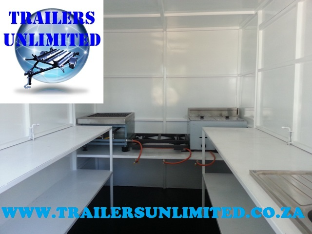 Top Seller Mobile Catering Trailer