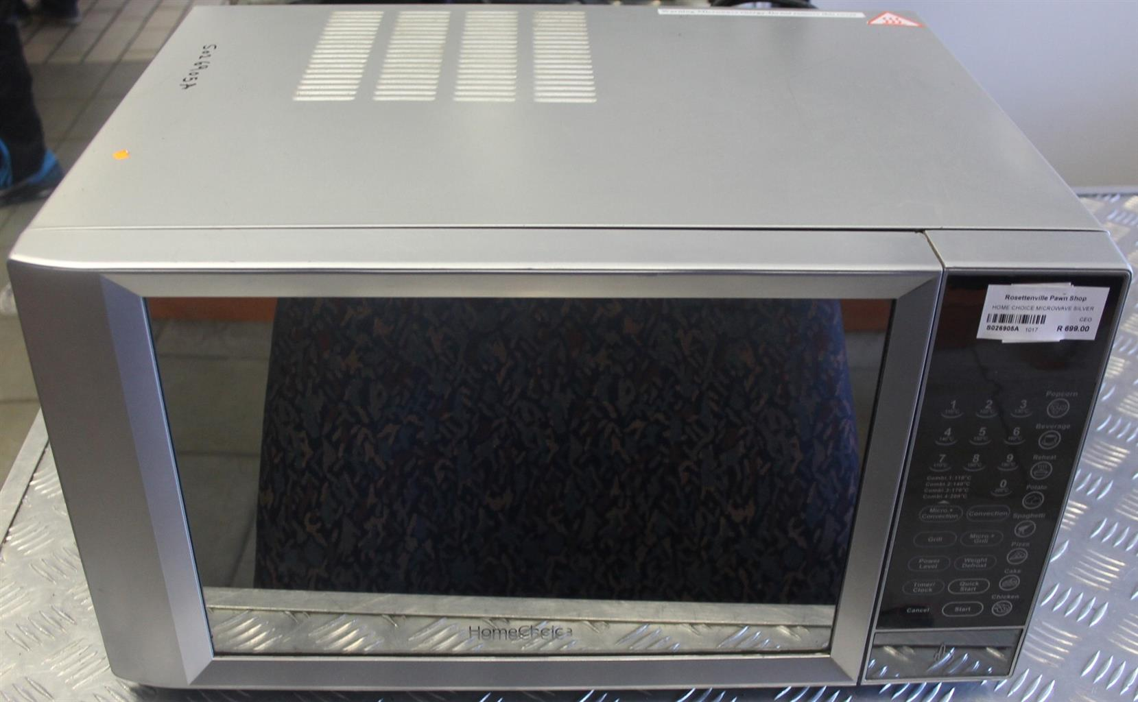 Home choice microwave S026805a  #Rosettenvillepawnshop