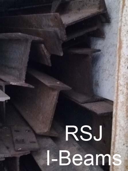Structural steel (RSJ & Rails) for Sale (For Construction)