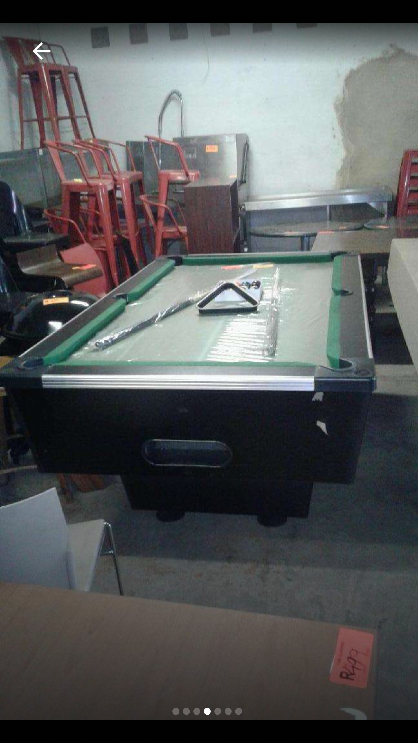 Brand New Slate Top Coin Operated Pool Table Junk Mail - Brand new pool table