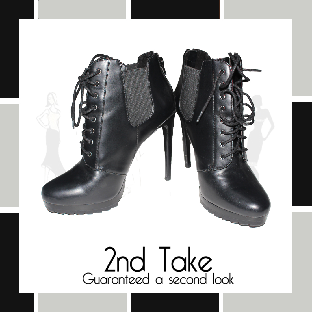 88b46cfe043ed Designer second-hand Zara ankle boots at prices you can afford! Available  at 2nd Take!
