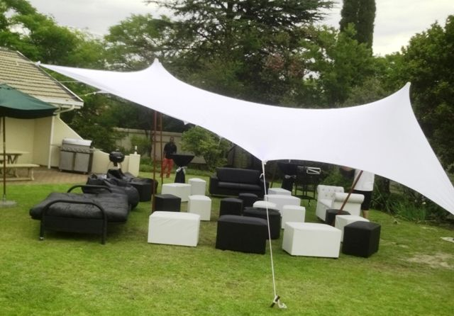 Stretch Tent and furniture package for 20 People only R2800 PLUS FREE BONUS