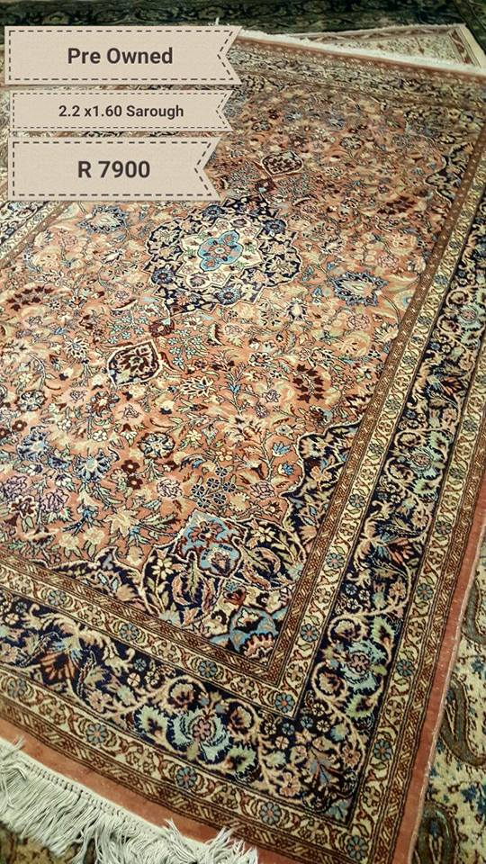 Pre Owned genuine persian rugs