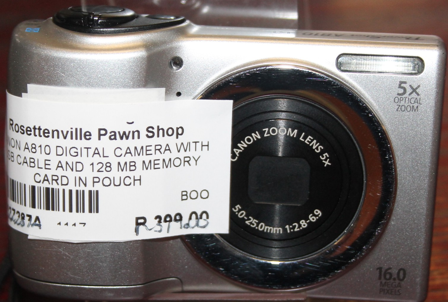 Canon digital camera S027287a  #Rosettenvillepawnshop