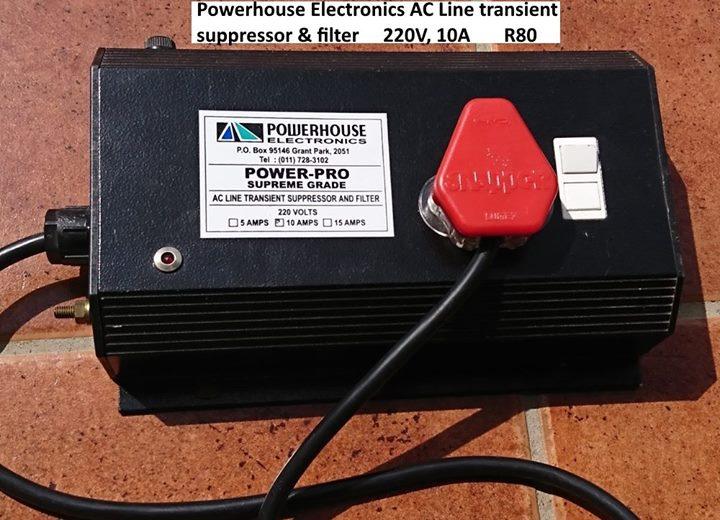 Powerhouse surpressor and filter