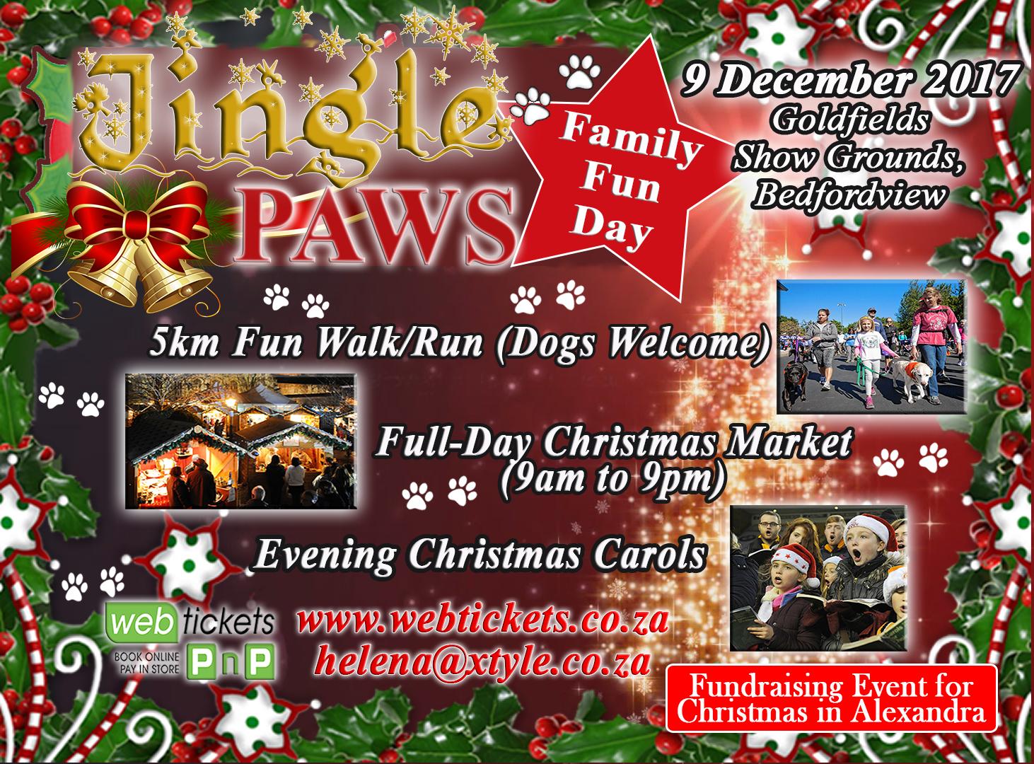 Fun Walk with Animals, Christmas Market and Christmas Carols