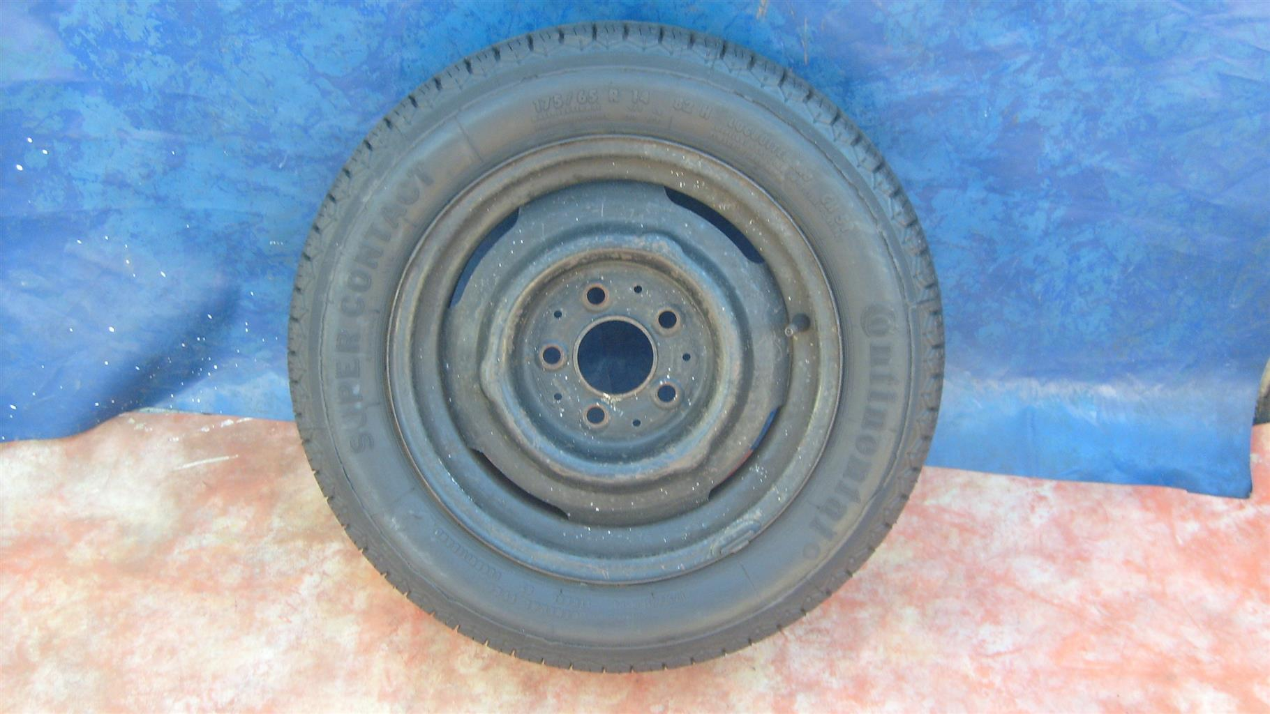 WHEELS & TYRES : Continental trye
