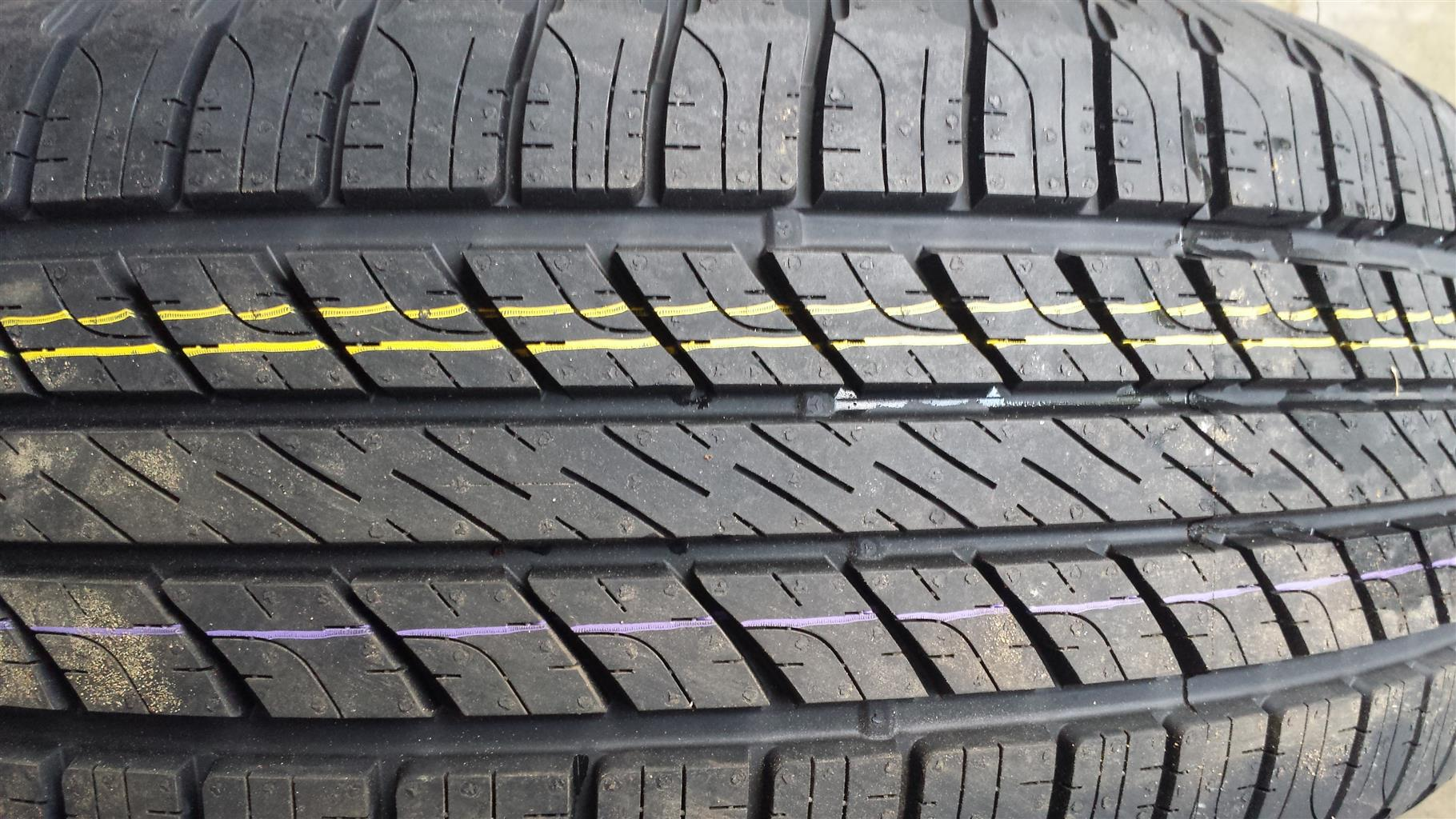 Tyres. 265.65.17 Goodyear