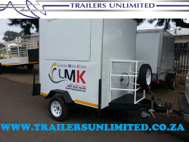 LMK FAST FOODS. TRAILERS UNLIMITED.