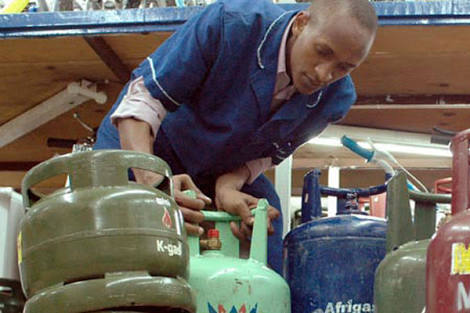 GAS CYLINDER REFILL ◇ REPAIRS ◇ SALES ◇