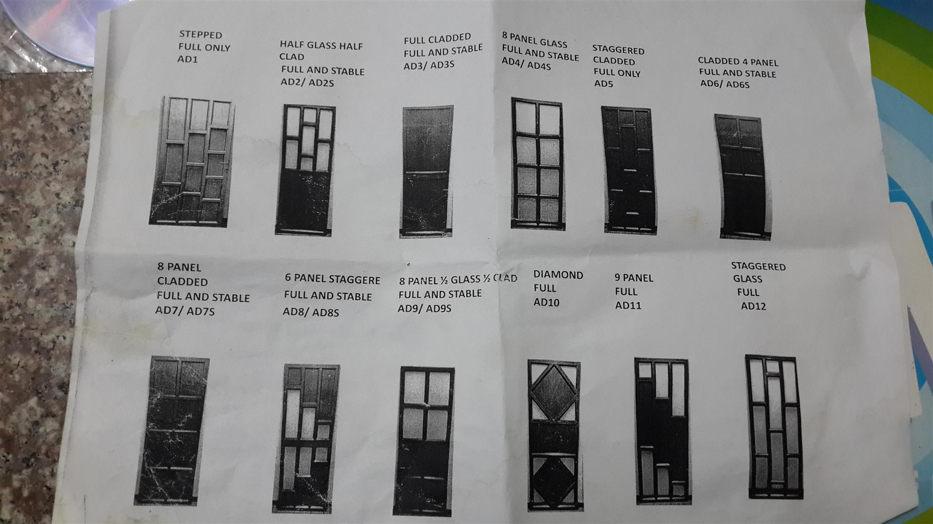 RNJ GLASS AND ALUMINIUM REPAIRS DONE TO ALL TYPES OF WINDOWS AND DOORS LOWEST PRICES