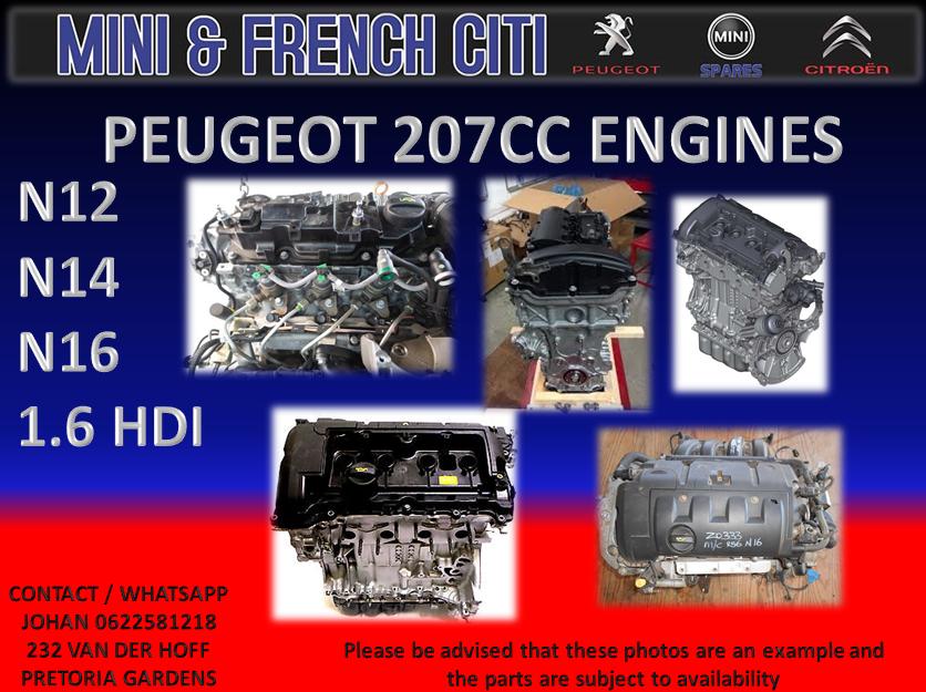 PEUGEOT 207 CC ENGINE   | Junk Mail