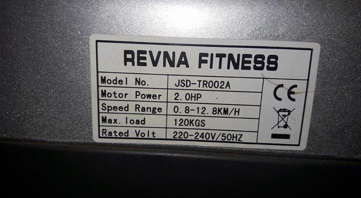 Revna fitness Treadmill