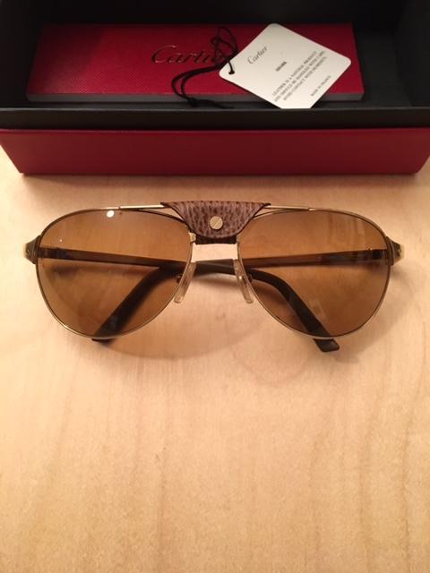 Cartier Santos-Dumont Adventurer sunglasses