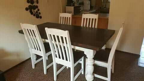 5 Seater eetkamer stel te koop