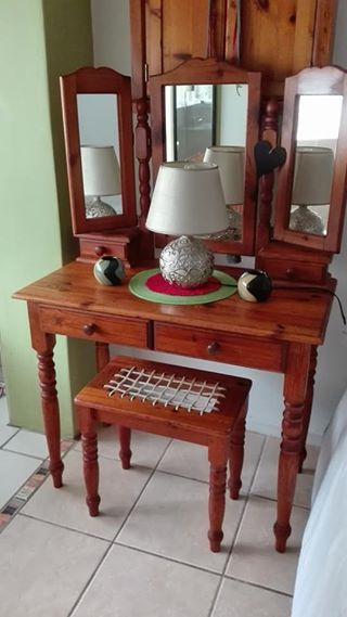 Original oregon pine bedroom suite